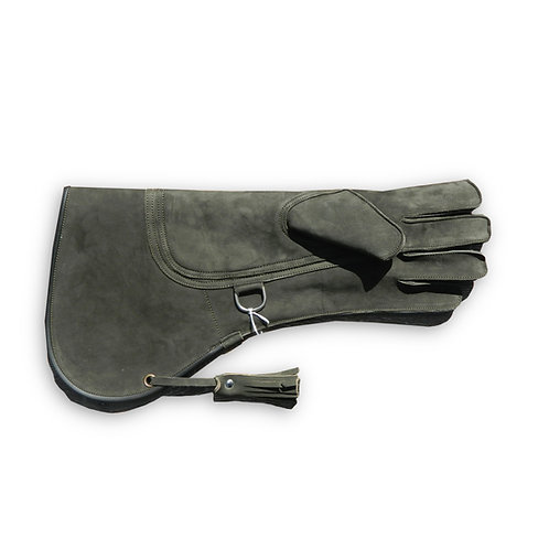 Long Triple Layer Nubuck Leather Falconry Glove
