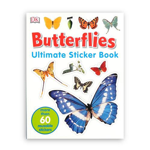 Butterflies Ultimate Sticker Book