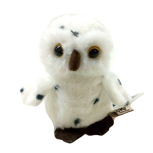 Living Nature Snowy Owl Soft Toy 9cm