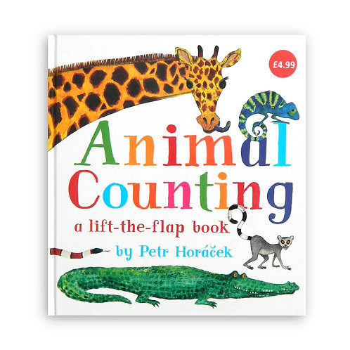 Animal Counting: A Lift the Flap Book