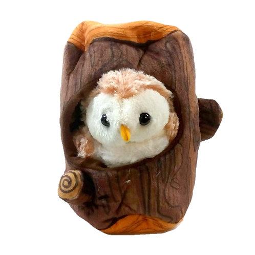 AdoptiPals Barn Owl Soft Toy 16cm