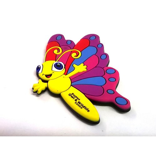 BOWC Flexi Magnet - Butterfly