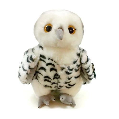 Ravensden Snowy Owl Soft Toy 28cm