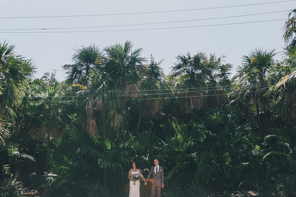 Chloe and Tim Wed in Mexico