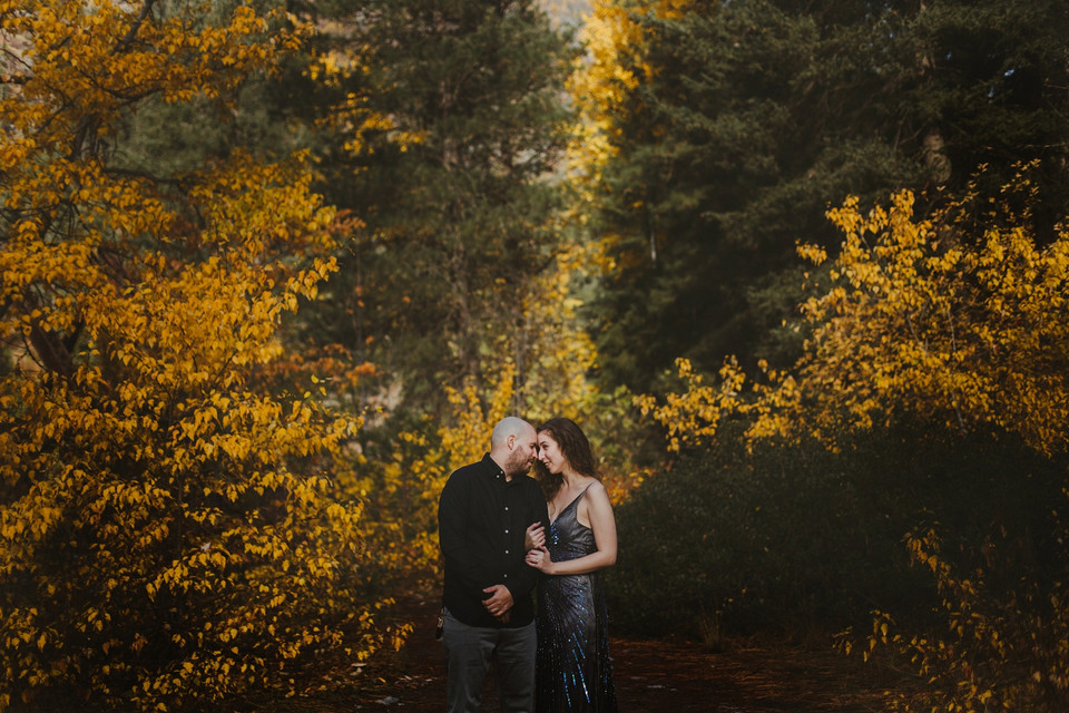 Rachel and Jonathan, a Leavenworth Engagement