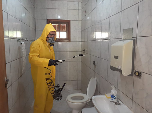 Sanitização de Ambientes ( Desinfecção )