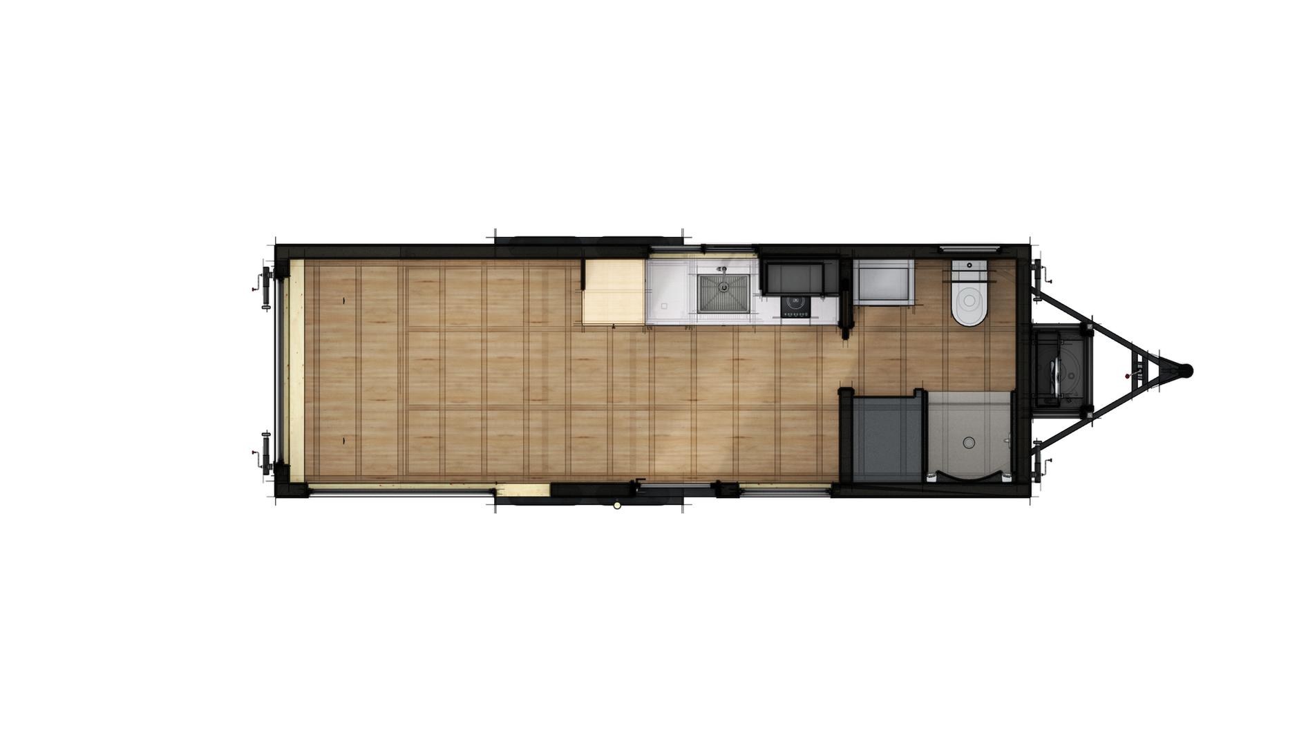 Studio 24 Floor Plan