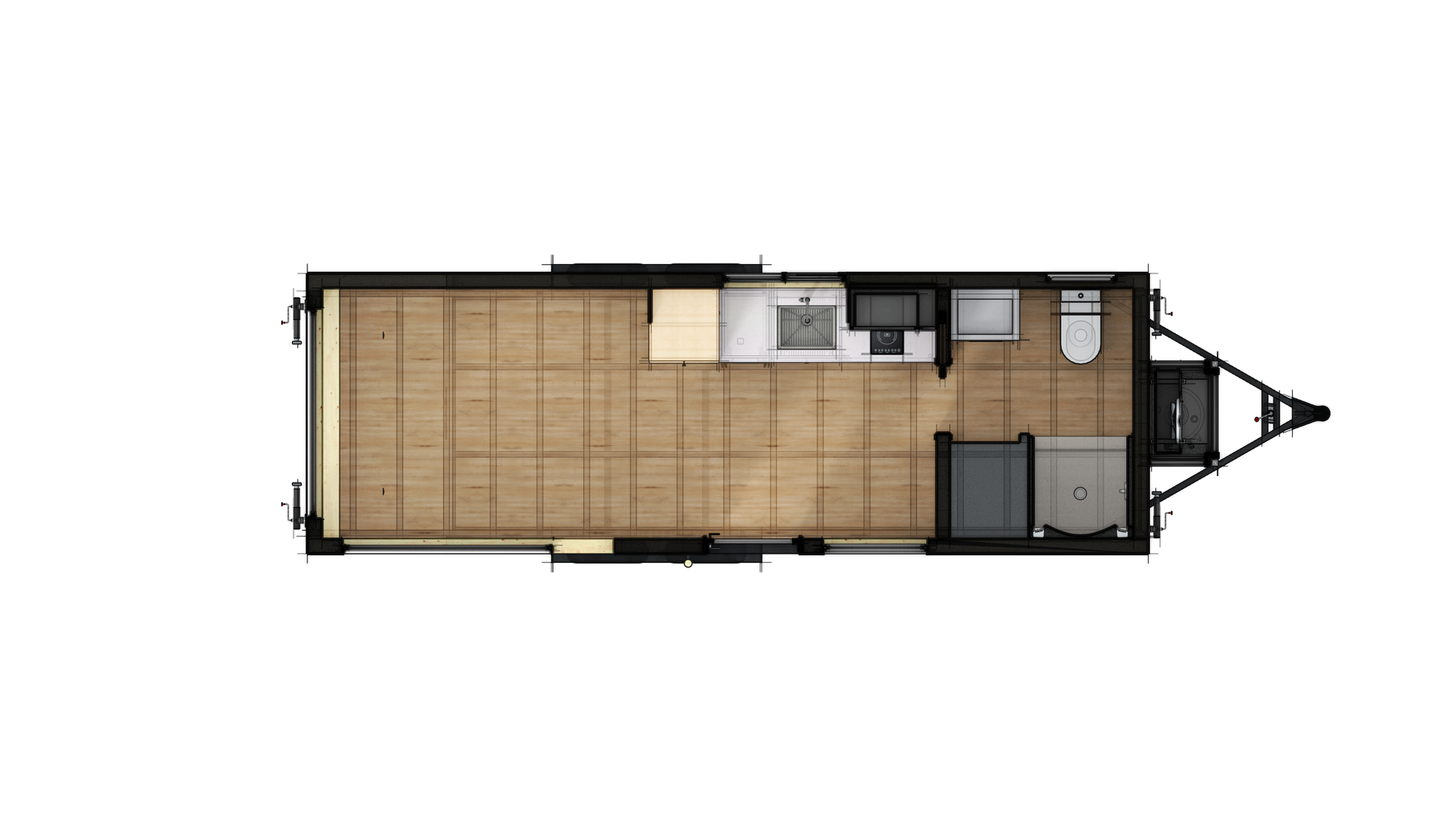 Studio 24 Floor Plan