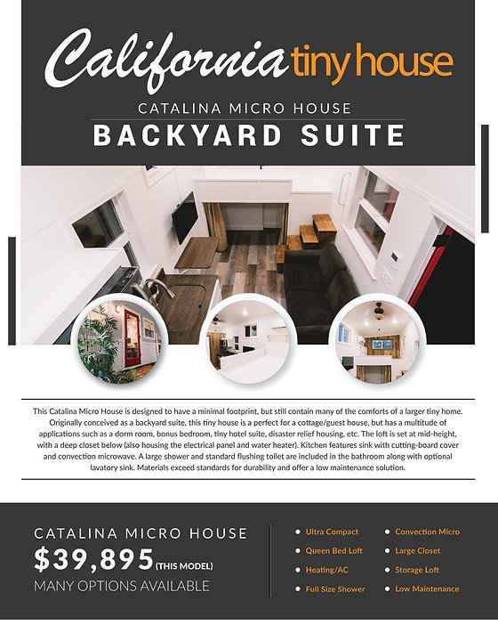 Catalina Microtiny house sale