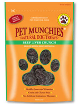Pet Munchies 100% Natural Treats - Liver Crunch