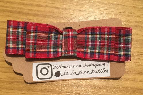 Christmas Ribbon Bowtie - Small