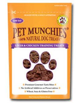 Pet Munchies Training Treats - Liver & Chicken - 50g