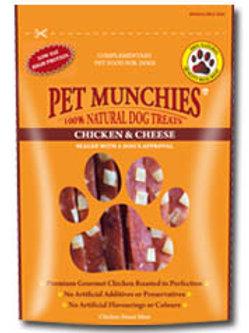 Pet Munchies 100% Natural Treats - Chicken & Cheese
