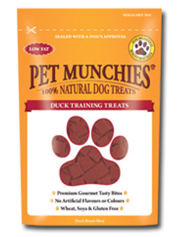 Pet Munchies Training Treats - Duck - 50g