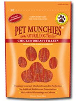 Pet Munchies Treats - 100% - Chicken Breast Fillets