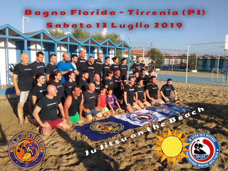 Ju Jitsu on the Beach 2019 WJJF Pma italia