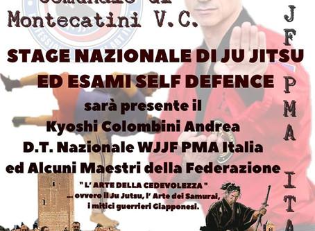 Montecatini V.C. - Stage Nazionale di Ju Jitsu ed Esami Self Defence 1 livello