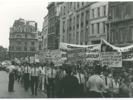 A snapshot of LGBT+ history in the UK