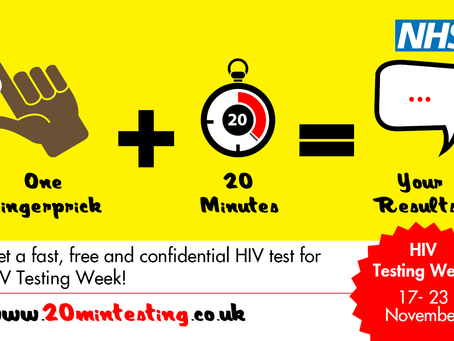 Fast, free and confidential HIV testing drop-ins across Stoke-on-Trent for HIV Testing Week
