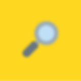 Magnifying glass icon yellow.png