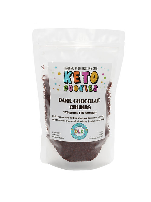 DARK CHOCOLATE COOKIE CRUMBS (176g))