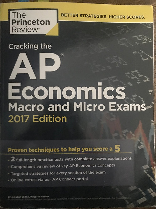 AP Economics Macro and Micro 2017 - The Princeton Review