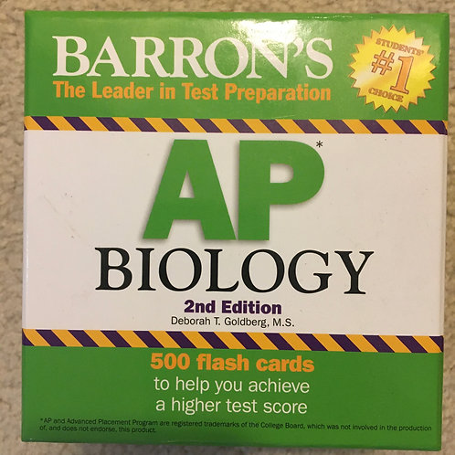 AP Biology Flashcards 2nd Edition - Barron's