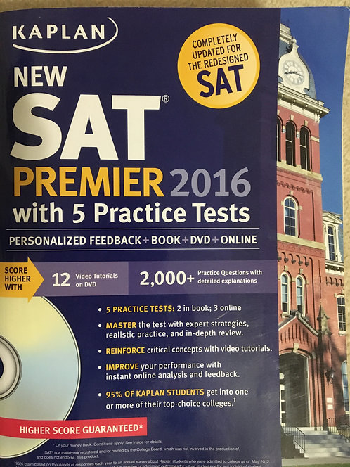 SAT Premier 2016 - Kaplan