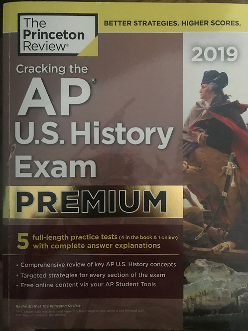 AP U.S. History 2019 - The Princeton Review