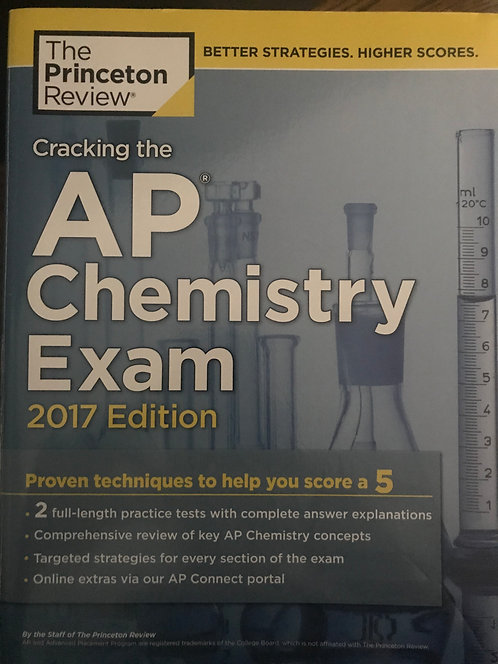 AP Chemistry 2017 - The Princeton Review