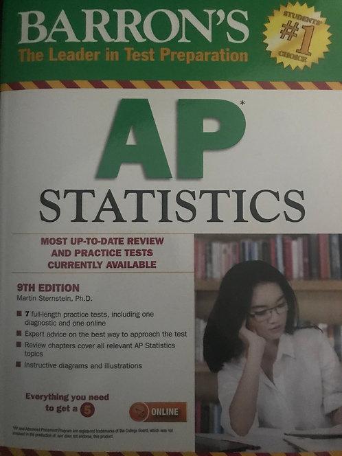 AP Statistics 9th Edition - Barron's