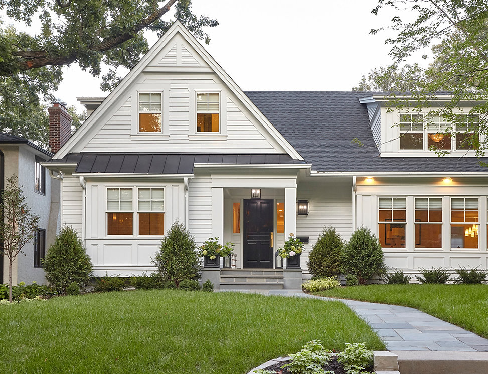 front exterior of transformed home