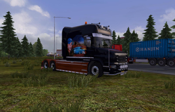 woman-and-car-scania-t-longline-1-8-2-5-