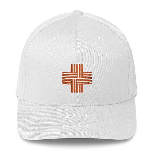 Structured Twill Cap (orange logo)