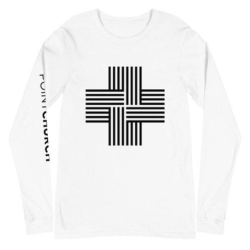 Unisex Long Sleeve Logo Tee