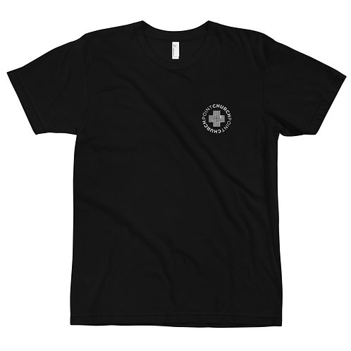 Embroidered Point Church Tee