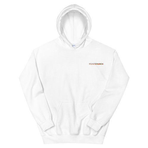 Embroidered Point Church Hoodie
