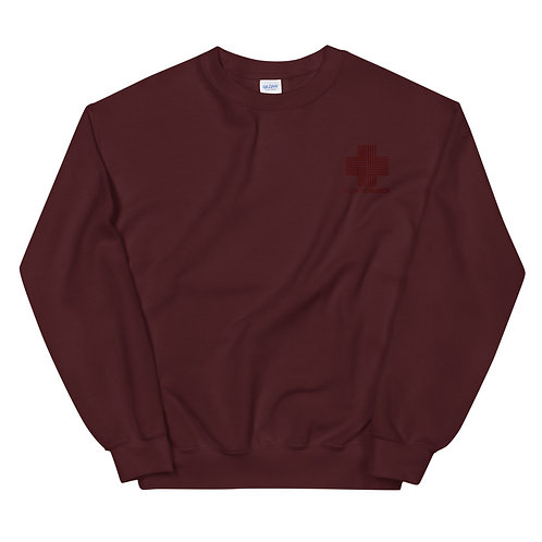 Point Church Embroidered Sweatshirt