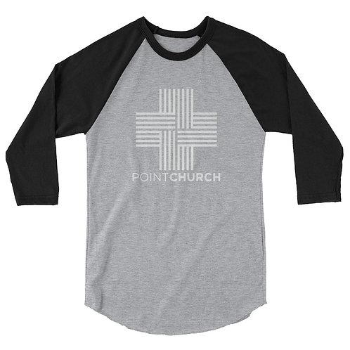 3/4 Logo raglan shirt