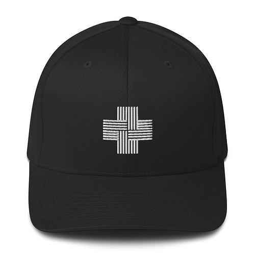 Structured Twill Logo Cap