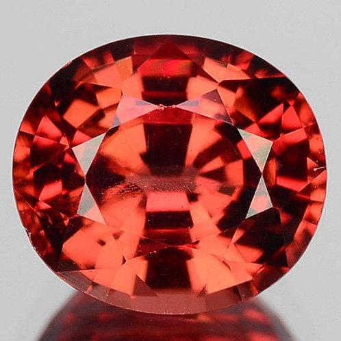 Natural Almandine Garnet 1.43 cts oval cut loose stone oval