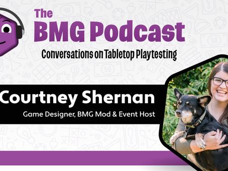 BMG Episode 2 - Courtney Shernan