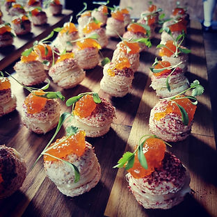 Cross Scythes Catering canapes.JPG