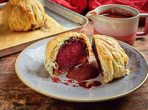 Valentine's Dinner for Two - Beetroot Wellington