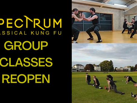 Group classes reopening w/c 7th September