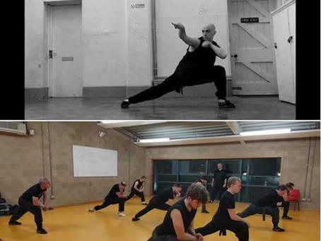 Basic stance training: is lower better?