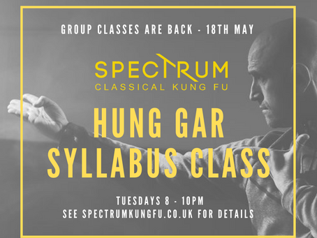 Group Classes Restart 18th May 2021