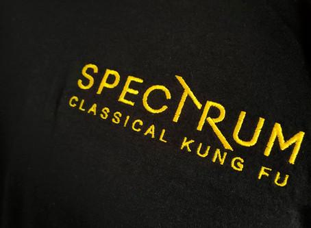 Spectrum Kung Fu branded clothing
