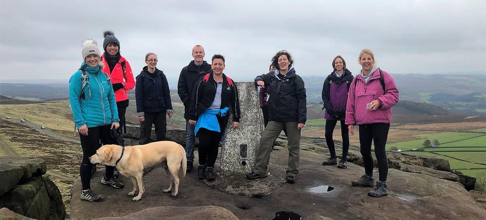 Stanage Edge Group Walk