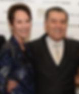 Cheryl and Haim Saban